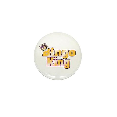 Bingo King Mini Button (100 pack)