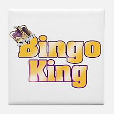 Bingo King Tile Coaster