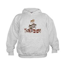 My First Thanksgiving Hoodie