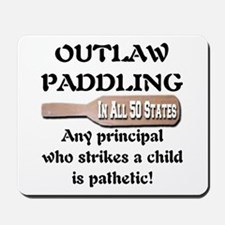 Outlaw Paddling It's Pathetic Mousepad