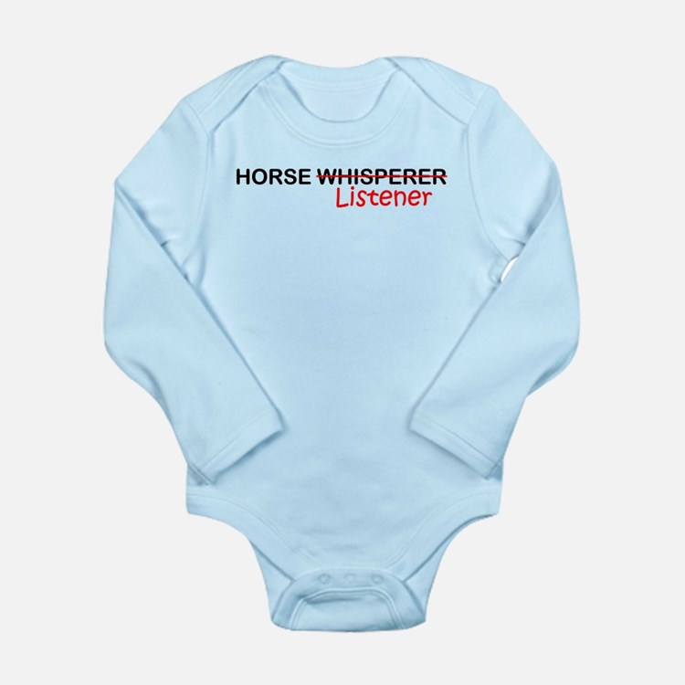 Cute Listener Long Sleeve Infant Bodysuit