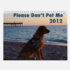 Please Don't Pet Me Wall Calendar