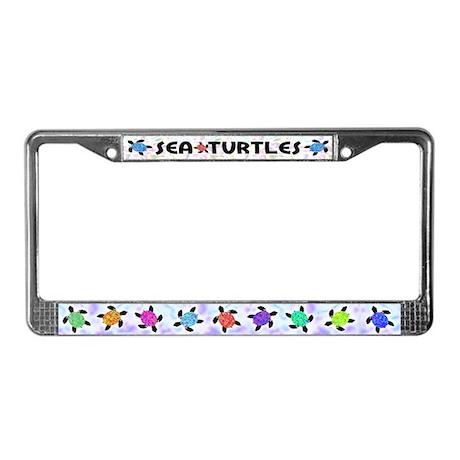 Sea Turtles License Plate Frame