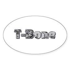 T-Bone Oval Decal