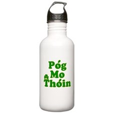 Pog Mo Thoin Kiss My Ass Water Bottle