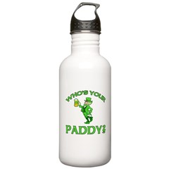 Leprechaun Who's Your Paddy Water Bottle