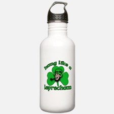Hung Like a Leprechaun Water Bottle