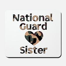 NG Sister Heart Camo Mousepad
