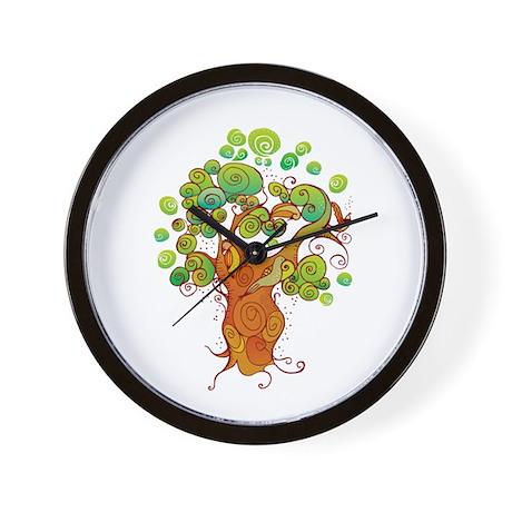 Peaceful Tree Wall Clock