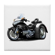 Goldwing Black Trike Tile Coaster