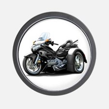 Goldwing Black Trike Wall Clock