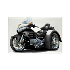 Goldwing Black Trike Rectangle Magnet