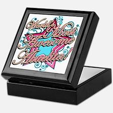 Worlds Most Awesome Abuelita Keepsake Box