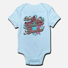 Worlds Most Awesome Abuelita Infant Bodysuit