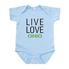 Live Love Ohio Infant Bodysuit