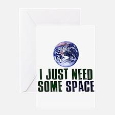 Astronaut Humor Greeting Card