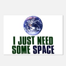 Astronaut Humor Postcards (Package of 8)