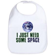 Astronaut Humor Bib