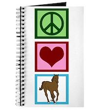 Peace Love Horses Journal