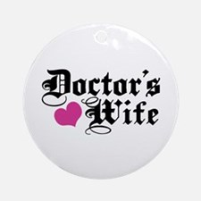 Doctor's Wife Ornament (Round)