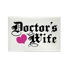 Doctor's Wife Rectangle Magnet