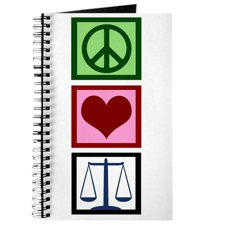 Peace Love Justice Journal