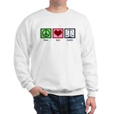 Peace Love Justice Sweatshirt
