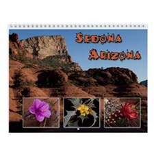 Sedona AZ Wildflowers and Scenics Wall Calendar