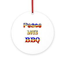 BBQ Ornament (Round)