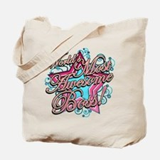 Worlds Most Awesome Boss Tote Bag