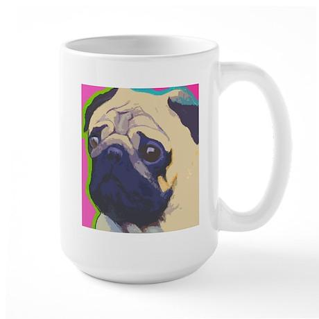 Fun Pug Large Mug