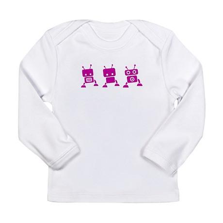 Baby Robots Long Sleeve Infant T-Shirt