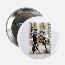 "Harness horse racing 2.25"" Button"