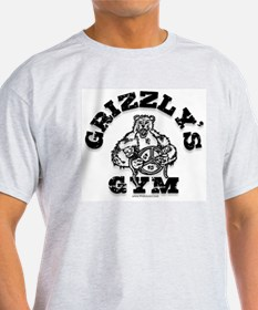 Grizzly's Gym Ash Grey T-Shirt