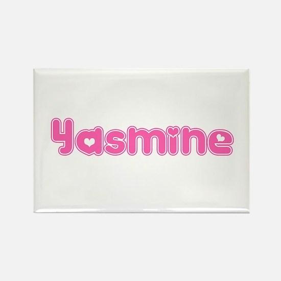 """Yasmine"" Rectangle Magnet"