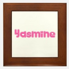 """Yasmine"" Framed Tile"