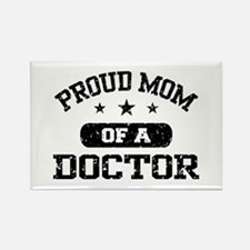 Proud Mom Of A Doctor Rectangle Magnet