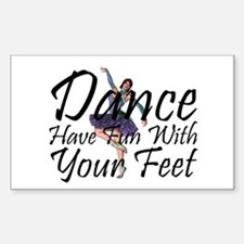 TOP Dance Fun Decal