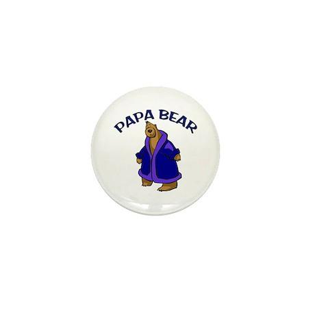 Papa Bear Mini Button (100 pack)