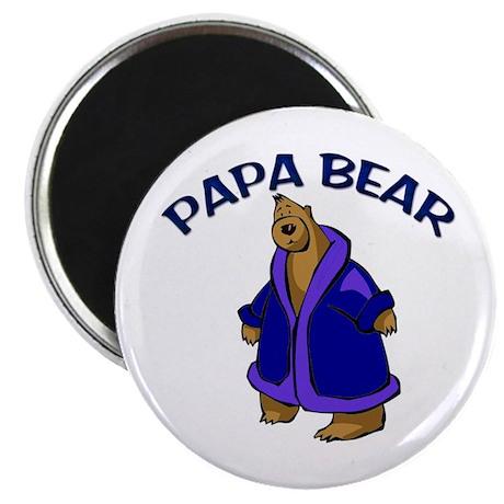 """Papa Bear 2.25"""" Magnet (100 pack)"""