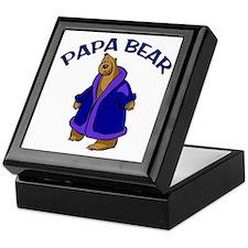 Papa Bear Keepsake Box