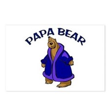Papa Bear Postcards (Package of 8)