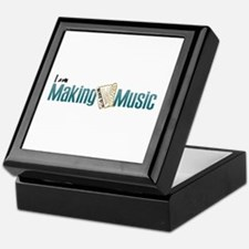 I am Making Accordion Music Keepsake Box