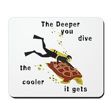 SCUBA Diving Mousepad