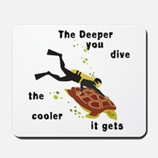 SCUBA Diving Mousepad