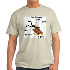 SCUBA Diving Ash Grey T-Shirt