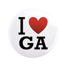 """I Love Georgia 3.5"""" Button (100 pack)"""