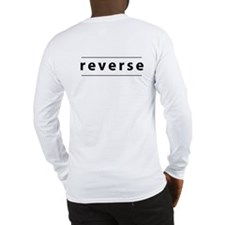 Obverse / Reverse Long Sleeve T-Shirt