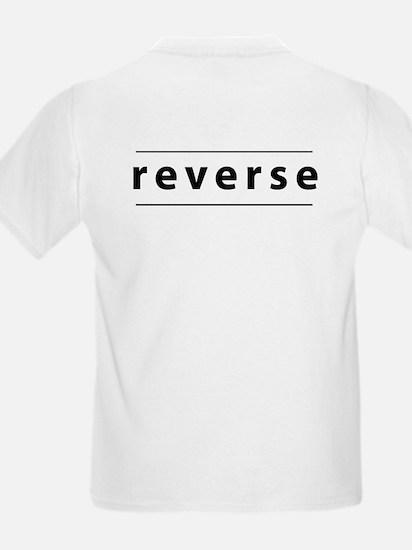 Obverse / Reverse Kids T-Shirt