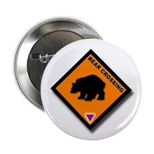 """Bear Crossing 2.25"""" Button (10 pack)"""